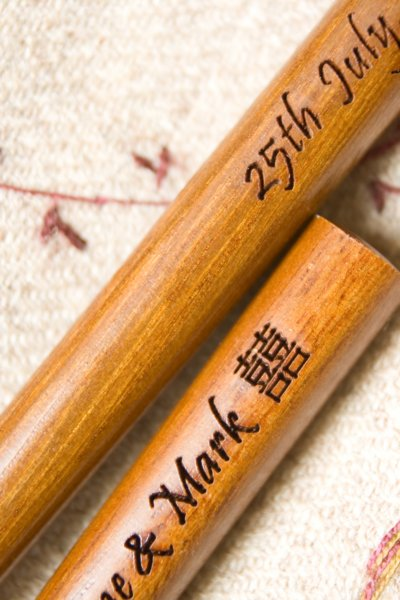 engraved chopsticks