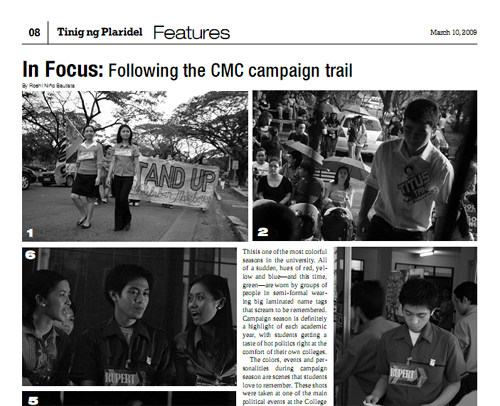 In Focus: Following the CMC campaign trail