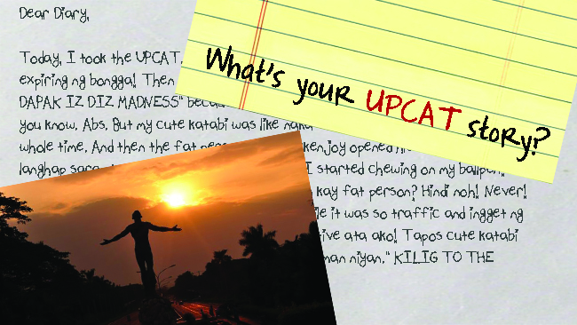 What's Your UPCAT Story: Mongol No. 2