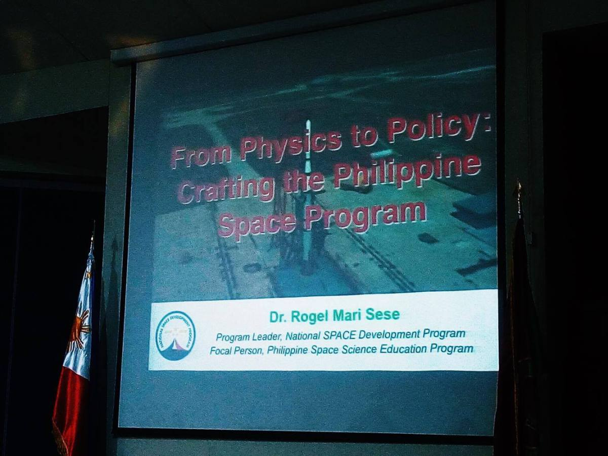 National Space Agency proponent: PH space program will benefit the country