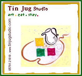 Image result for the tin jug studio logo
