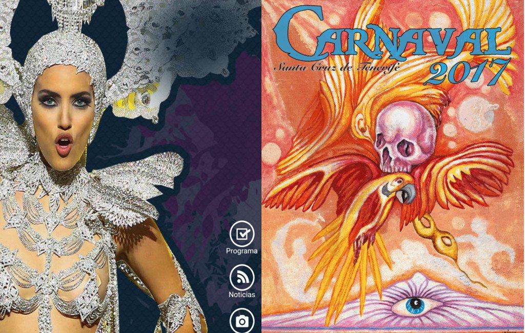 Aplicaciones móviles de dos de los carnavales de Canarias