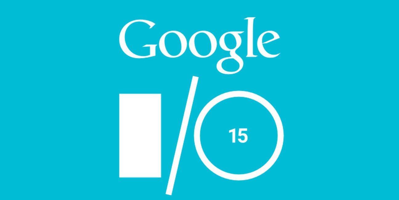 La imagen del evento de Google: Google I/O, en 2015