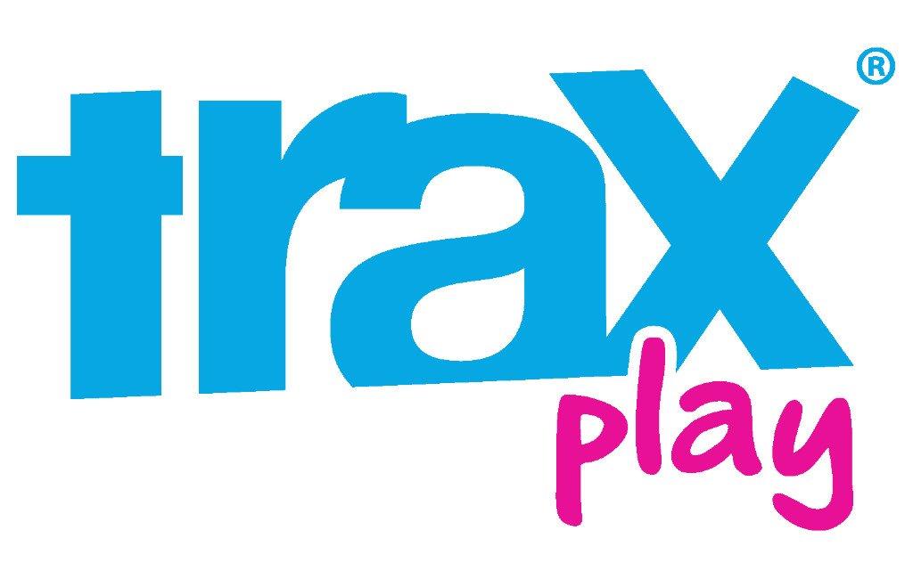 El logo de Trax