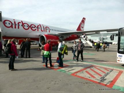 Abflug in Frankfurt - die Spannung steigt