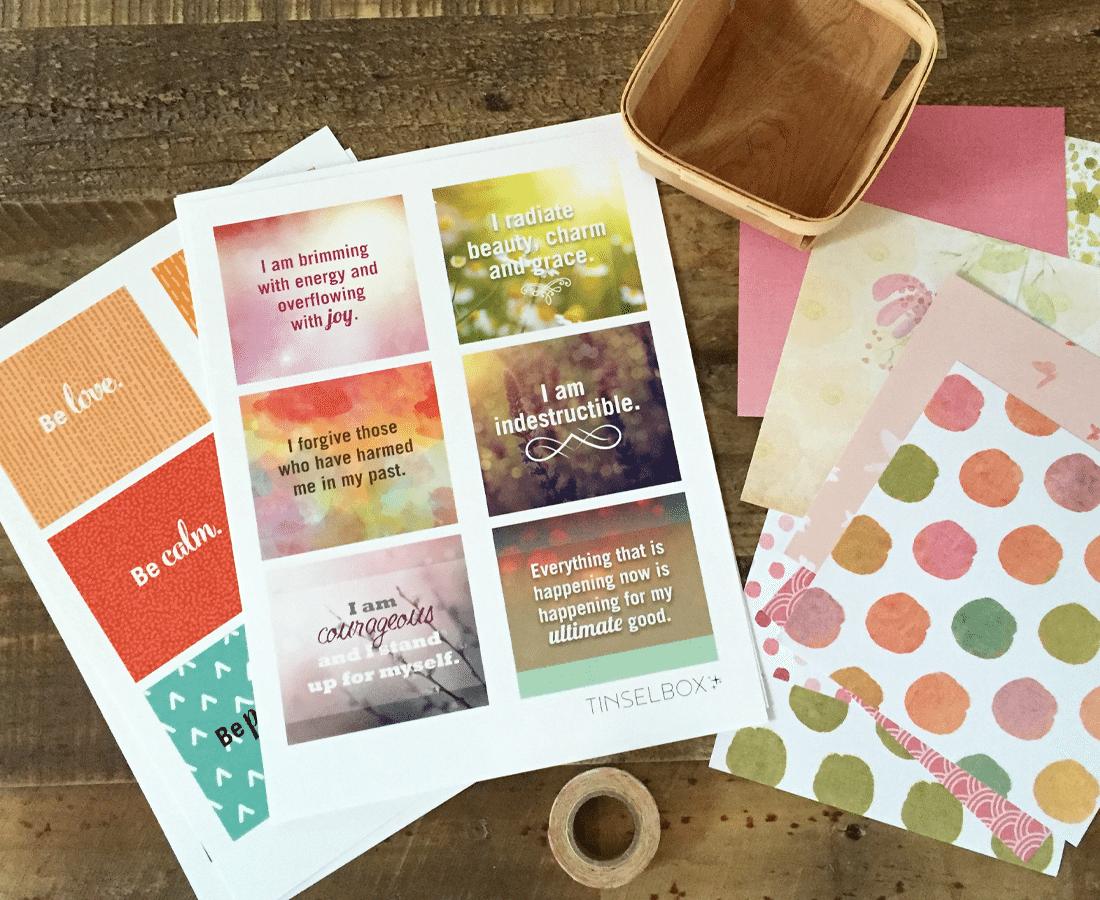 Printable Affirmation Cards Pamper Your Self Esteem