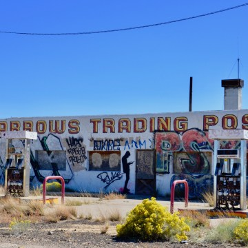 Twin Arrows Trading Post (Closed)- Near Flagstaff, AZ