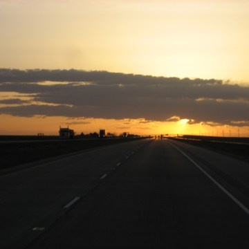 Texas Panhandle Sunset