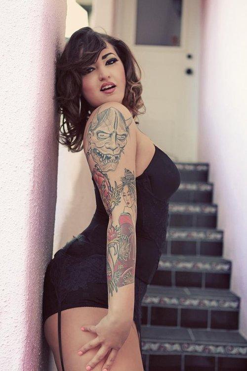 Fotos de Pin-Ups tatuadas (20)