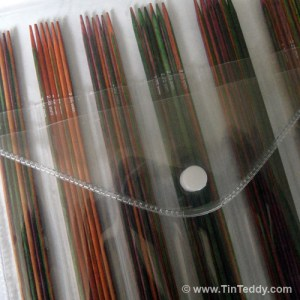Symfonie Sock Needles - 6 sizes of sock needle included