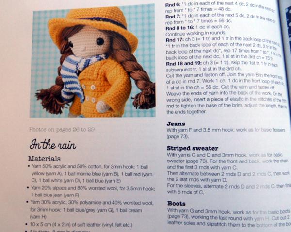 My Crochet Doll by Isabelle Kessedjian – Crochet Book Review – Tin ... | 477x600