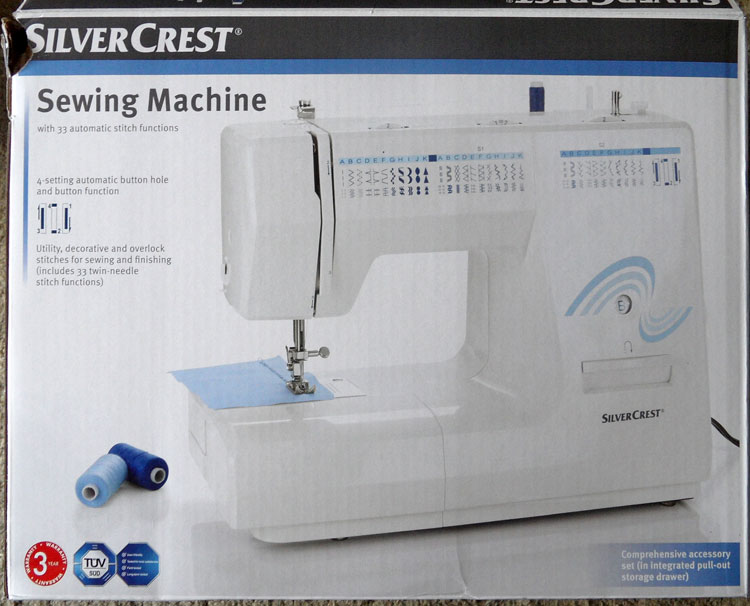 SilverCrest Sewing Machine