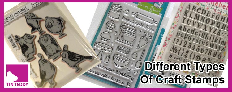 Different Types of Craft Stamps