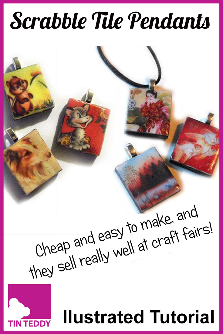 How to make scrabble tile pendants an illustrated tutorial tin teddy illustrated tutorial to make scrabble tile pendants these attractive pendants have been a bit hit aloadofball Image collections