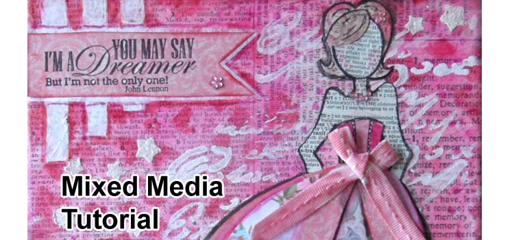Paper Doll Mixed Media