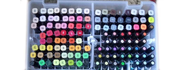 Alcohol Marker Pen Storage Solution – Art Bin Super Satchel