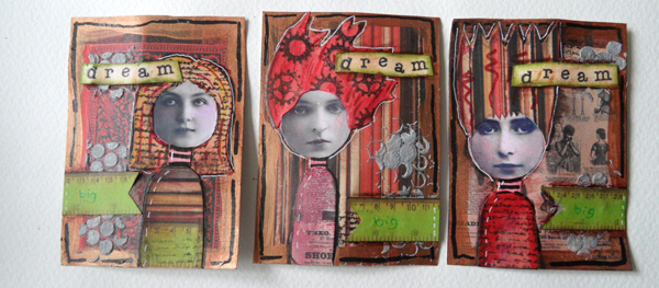 Inchie Faces ATCs Tutorial
