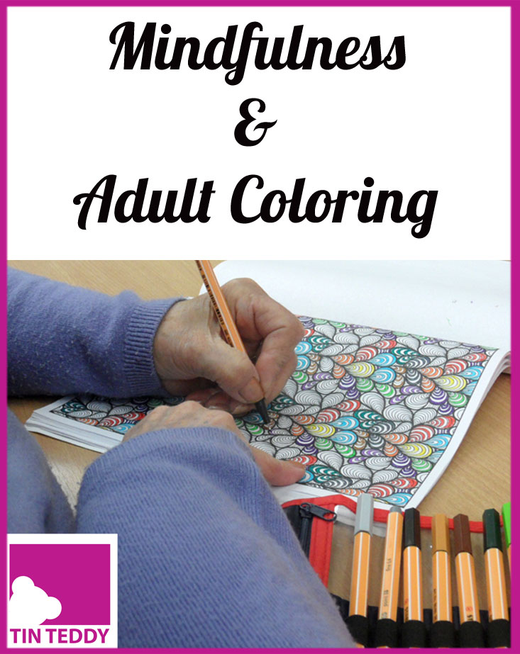 Mindfulness and adult colouring books are very on trend, fun and good for you!  What's not to like?