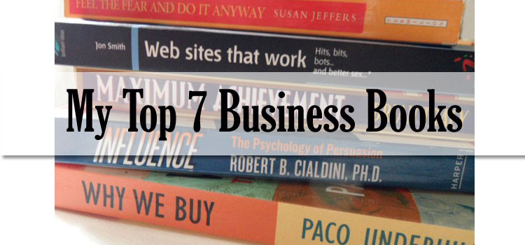 My Top Seven Business Books