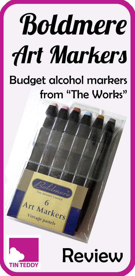 A review of the budget Boldmere Art Markers from The Works (and other places).  They are very economical - but are they any good?