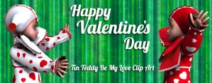 Happy Valentine's Day from Tin Teddy