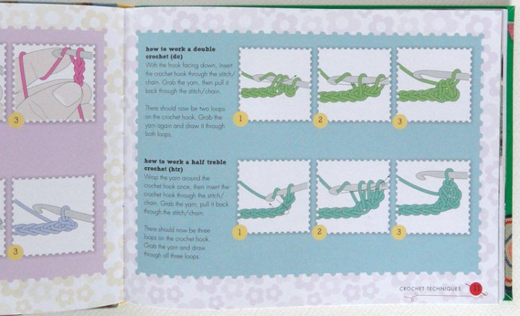 Stitch instructions from Let's Go Camping by Kate Bruning