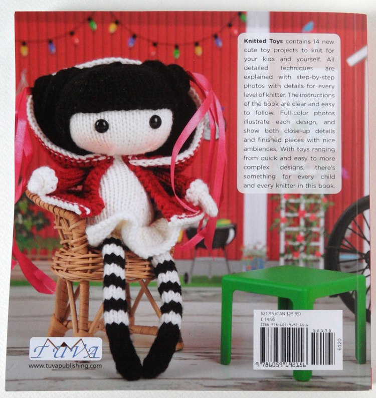 Knitted Toys by Tatyana Korobkova - back cover