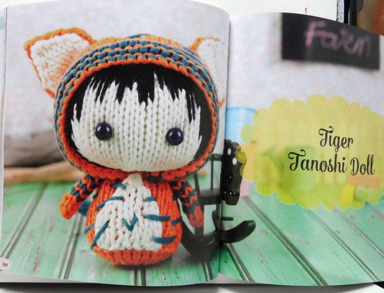 Knitted Toys by Tatyana Korobkova - Tanoshi tiger