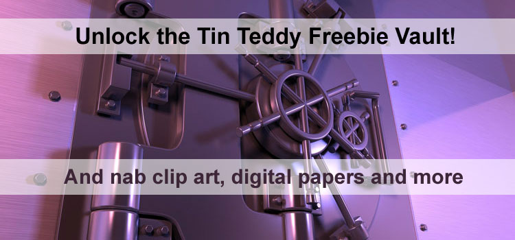Unlock the Tin Teddy Freebie Vault!