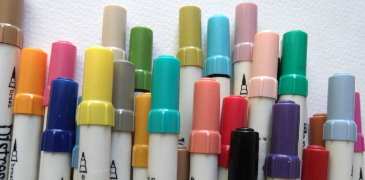 Colourful Distress Markers