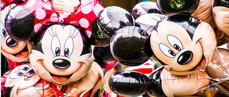 Disney branding summarized in a mouse