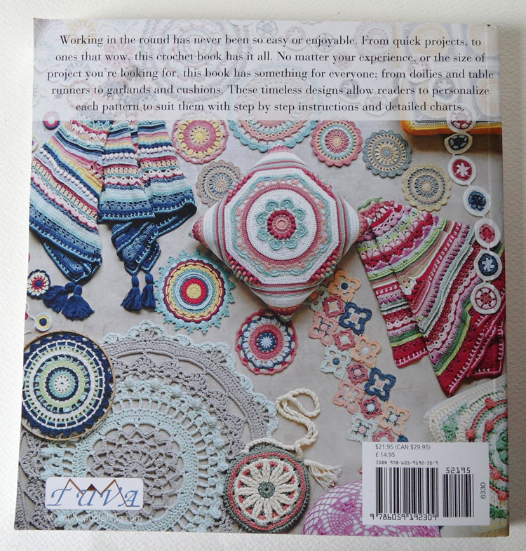 Round the Crochet Hook - back of book