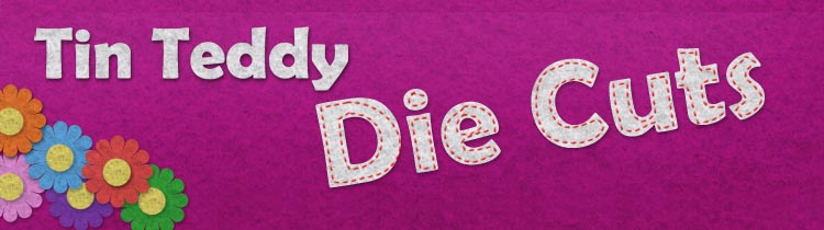 Tin Teddy Die Cuts – Exciting new shop on Etsy