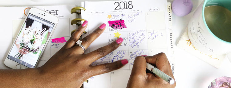 Use a planner to help your time management