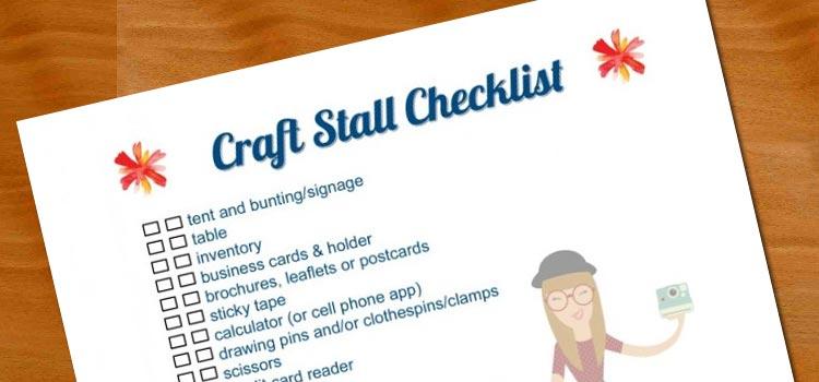 Link to Tin Teddy Free Craft Stall Checklist