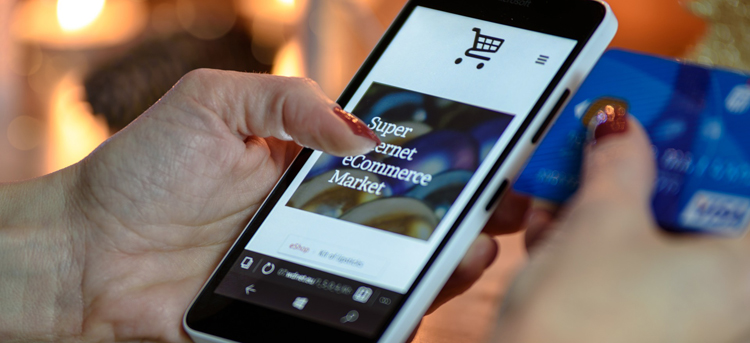 Many people shop on mobile devices