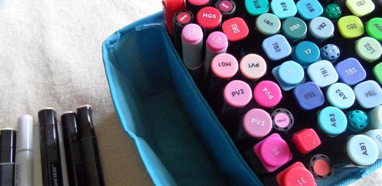 Togood Marker Storage Bag - the pen storage tray