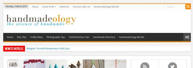 Handmadeology.com - lots of useful stuff for craft sellers