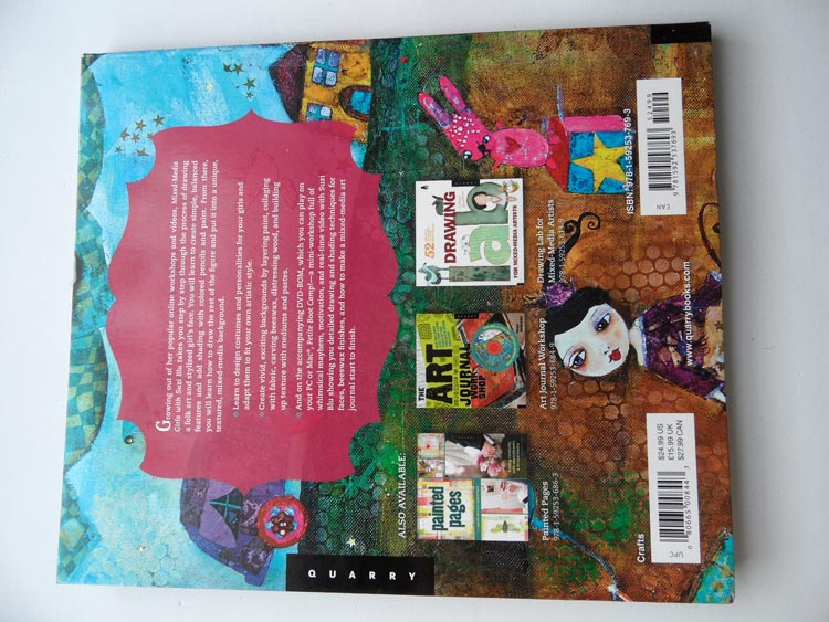 Mixed Media Girls with Suzi Blu - Back of Book
