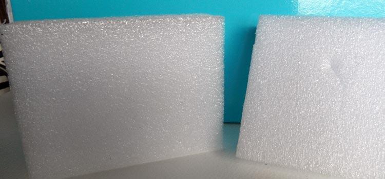 Expanded Foam for Needle Felting
