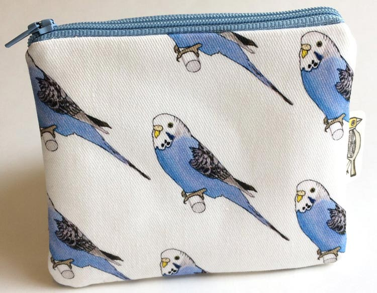 Budgie Purse from BirdModernVintage