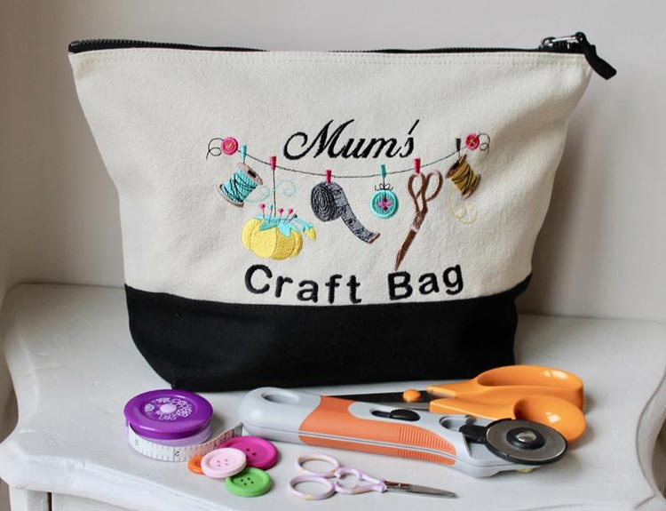 Personalised Craft Bag by Sewn4youGB