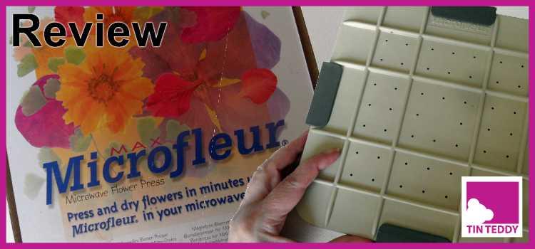 Tin Teddy Review of Microfleur Flower Press