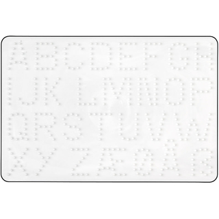 Hama Mini Bugelperlen Stiftplatte Weiss Nr 593 Viereck Multi