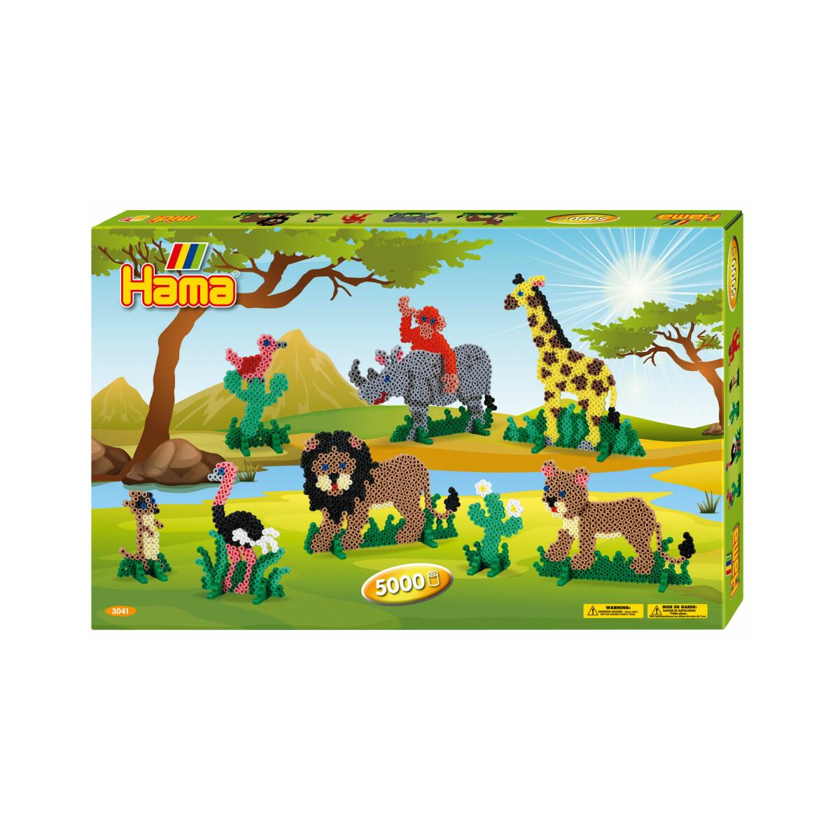 Bugelperlen Hama 12x Schablonen Elefant Lowe Giraffe Kamel In