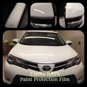 Toyota Rav 4 paint protection film at Tint Magic Coral Springs