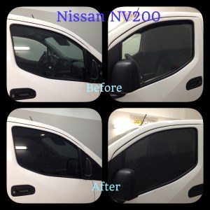 Nissan NV 200 Window Tinting-Tint Magic Window Tint Coral Springs