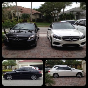 Mercedes Benz window tint at Tint Magic Coral Springs