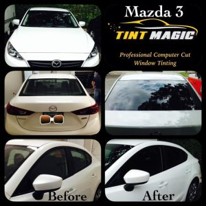 Tint Magic Mazda 3