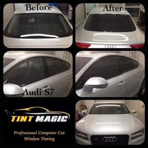 Tint Magic Window Tinting  Audi S7